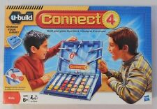 BRAND NEW HASBRO U-BUILD CONNECT 4 FOUR Kids Family Board Game Age 6+