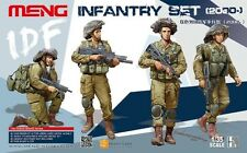 Meng Models HS004 IDF Infantry Set 1/35 Military Figures Soldiers Model Kit