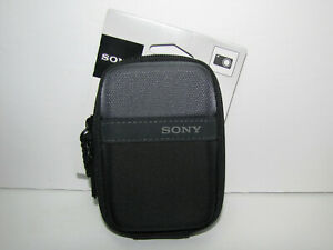 New Sony LCS-TWP Purpose Case for Cyber-shot T and W Series Cameras (Black)