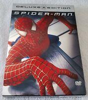 Spider-Man (DVD, 2004, 2-Disc Set, Deluxe Edition Widescreen)