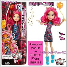 New Monster High HOWLEEN WOLF Doll From The Ghoul Fair Series Werewolf CHW70
