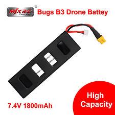 1x 7.4V 25C 1800mAh LiPo Battery High Capacity for MJX Bugs B3 Drone Quadcopter