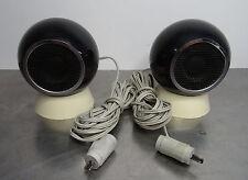 Paar kleine spacige Kugelboxen Lautsprecher Kugel Kalottenstrahler HFB 100 ~70er