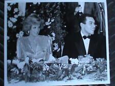 Princess Diana Original Press Photo W/ Bruce Oldfield Syndication International