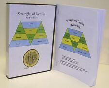 6 DVD Strategies of Genius Robert Dilts nlp hypnosis