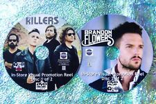 The KILLERS & Brandon Flowers Visual Promo Reel 48 Music Videos Reel 2 DVD Set