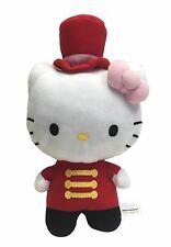 "Sanrio Hello Kitty Red Nutcracker Costume 12"" Plush Stuffed Toy"