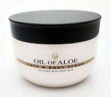 OIL OF ALOE FACE & BODY SCRUB 300ML ENRICHED WITH ALOE VERA - NEW TUB