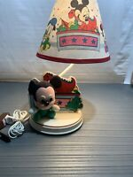 Vintage Disney Baby Mickey Mouse Plush Lamp Dolly Inc Underwriters Lab