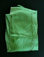 """RARE VINTAGE 1950'S DEADSTOCK GREEN MOIRE SILK FABRIC 7 YDS  X  35"""" W"""