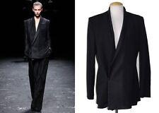 ** HAIDER ACKERMANN ** $2,130 NWT Runway Women's Menswear-Inspired Jacket Sz 38