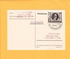Nazi Germany Hitler Birthday Uncommon Druchsache Rate ONEDAYONLY 1943 Cancel z69