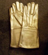 Gold Parade Horse Cavalry Rodeo Gloves Gauntlet Circus Band Master Ceremony APRA