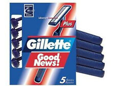 Gillette Good News Plus Disposable Razors - 5 Count (3 Pack)