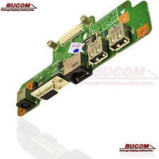 DELL 1750 POWER BOARD USB ETHERNET VGA Netzbuchse DC JACK 48.4CN01.011 Platine