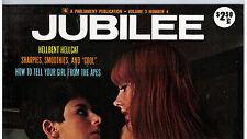 "MAGAZINE ""JUBILEE"" (1972) PARLIAMENT /  PHOTOS / WOMEN / VINTAGE / U.S.A."