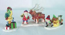 Santa'S Little Helpers Heritage Dickens Village 5610-3~ Department 56~Nib
