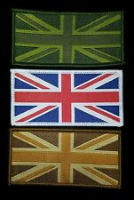 Choose 1 Union Jack Flag UK Army Badge Badges Patches Woven Soldier Ensign TRF