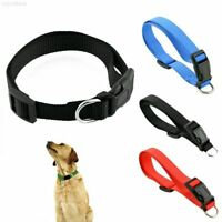 Pet Dog Collar Neck Strap Leash Large Medium Small Puppy Cat Adjustable Buckle