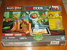 """Angry Birds ~ Star Wars Teleport """"Endor Chase"""" Play set ~ Hasbro  New!"""