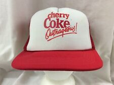 trucker hat baseball cap Cherry Coke Outrageous! retro vintage rave snapback
