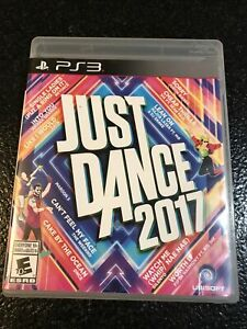 Just Dance 2017 (Sony PlayStation 3, 2016) PS3