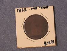 *** 1862  One Penny (Great Britain)  KM# 749.2