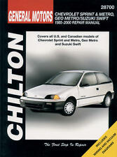1989-2000 Suzuki Swift - Chilton Paper Repair Manual  #28700