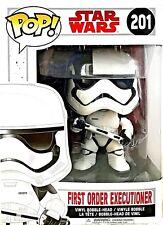 Funko Pop! Star Wars First Order Executioner 201 Last Jedi Bobble Head 2017 New