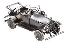 Deko Oldtimer Metall Grau ca. 20 x 7 x 8,5 cm Auto Blechauto Modellauto 1