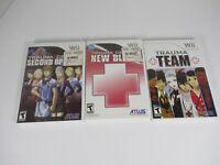 Trauma Center Games Lot (3 Games) - Nintendo Wii