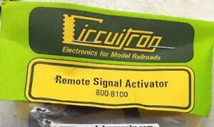 CIRCUITRON 8100 Remote Signal Activator  gates/semaphore  MODELRRSUPPLY $5 Offer