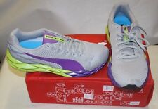 PUMA GILITY 185802-05 SHOES WOMENS SIZE 9 VIOLET/LIME NEW IN BOX FREE SHIPPING
