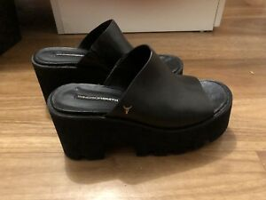 Windsor Smith Black Leather Size 5 Shoes