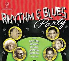 RHYTHM & BLUES PARTY - VARIOUS ARTISTS (NEW  SEALED 3CD )