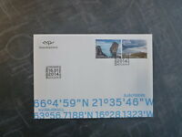 2014 ICELAND LANDSCAPES SET 2 STAMPS FDC FIRST DAY COVER