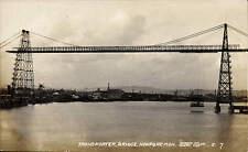 More details for newport. transporter bridge # 7 by je. height 177 ft. width 645 ft.
