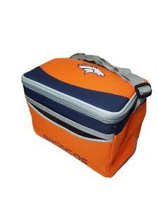 DENVER BRONCOS NFL FOOTBALL Team Logo Mavrik  6 Pack can Cooler Lunch Bag