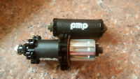 New  PMP Road Bike Carbon Front and Rear Hub Set Shimano 11 S