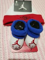 Nike Air Jordan Baby Boys' Hat Booties 0-6 months Newborn sets