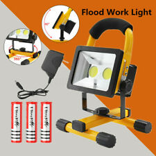 30W LED COB Rechargeable Flood Light Portable Outdoor Camping Spot Work