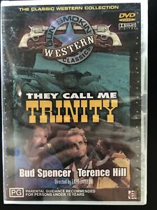 They Call Me Trinity (DVD, 2003) Brand New & Sealed