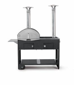 Barbecue BBQ a Legna Grill Forno Da Giardino Pizza e Cucina Made in Italy Ibrido