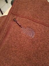 EUC Maroon North Face Zip Up Sweatshirt Mens XXL Sherpa Style Lining