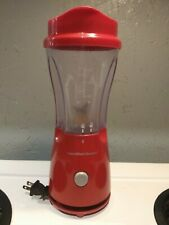 New listing Hamilton Beach Personal Single Serve Blender with Travel Lid