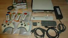 Xbox 360 konsole mit 9 Spielen und 2 Controllern