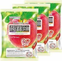 MANNAN LIFE KONJAC BATAKE Diet Jelly Apple 25gx12pieces 3sets Japan