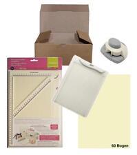 Schnäppchenkiste FALZBRETT: je 1 Brett DIN A4 + A5, Eck-Stanzer + Papier 178100