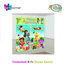 Tinkerbell Party Supplies SCENE SETTER Wall Decorating Kit Backdrop