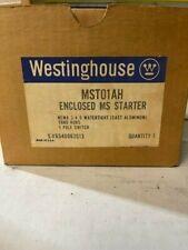 WESTINGHOUSE MST01AH WATERTIGHT ENCLOSED MS STARTER NEMA 3-4-5 1P SWITCH NEW
